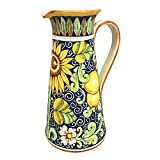 CERAMICHE D'ARTE PARRINI - Italian Ceramic Art Pottery Vase Jar Vessel Pitcher Hand Painted Made in ITALY Tuscan