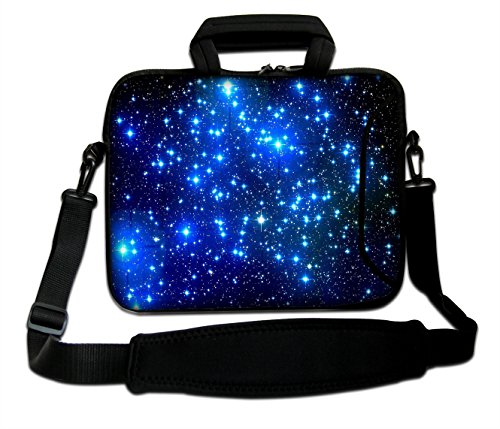AUPET 10 Inch Neoprene Laptop Bag with Extra Side Pocket,...