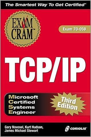 Télécharger le livre en ligne google MCSE TCP/IP Exam Cram by Gary Novosel (2000-03-06) B01K96AJ9Q in French ePub