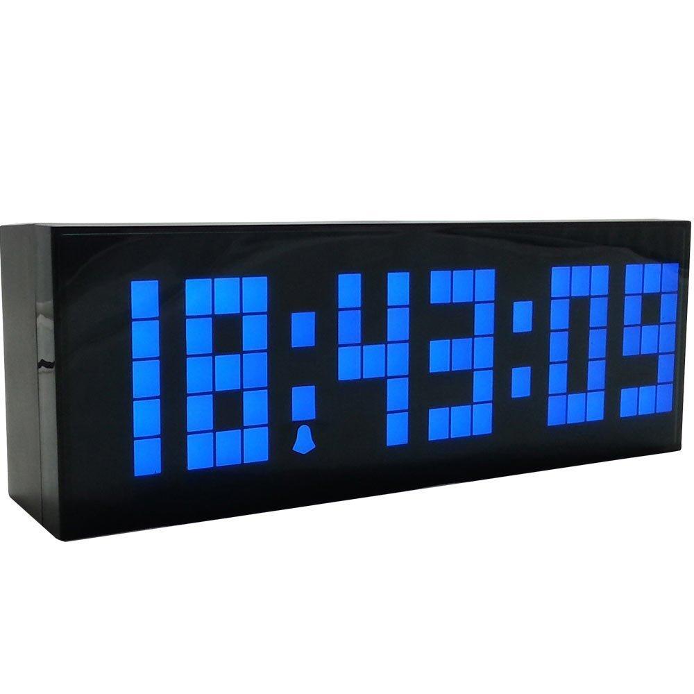 Amazon.com: LambTown Led Digital Wall Desk Alarm Clock with ...