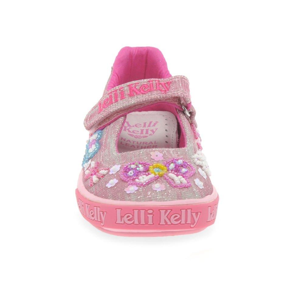 e7a9ab3c Lelli Kelly Shining Bow Dolly Girls Canvas Shoes: Amazon.co.uk: Shoes & Bags