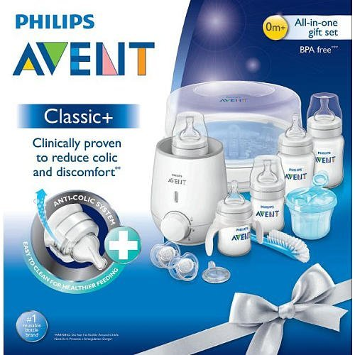 Philips Avent BPA Free Classic+ All in One Set