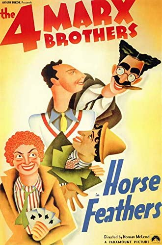 Amazon.com: Horse Feathers POSTER Movie (11 x 17 Inches - 28cm x 44cm) (1932):  Posters & Prints
