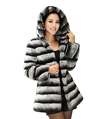 Chinchilla Fur Coat - 1