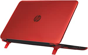 """mCover Hard Shell Case for 15.6"""" HP Pavilion 15-ccXXX (15-cc000 to15-cc999) Series (NOT Fitting 15-ayXXX or 15-baXXX or 15-auXXX Series or Envy laptops) Notebook PC (Pavilion-15-CC Red)"""