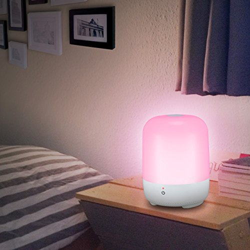 cymas touch lamp dimmable night light for bedroom living import it all. Black Bedroom Furniture Sets. Home Design Ideas