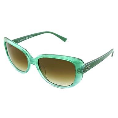 Amazon.com: Valentino V644S v644s-445 de plástico verde las ...