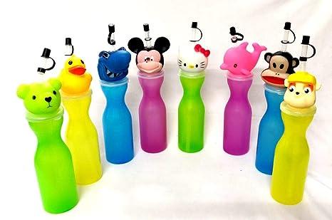 Shopkooky Birthday Gift For Kids Boys Girls Cute Animal Shape Cap Sipper