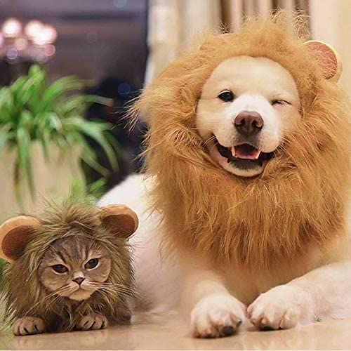 Namsan Pet Costume for Holiday Cat Halloween Hat Dog Christmas Outfit- Pet Sailor Outfit, Lion Hat, Christmas Hat 22