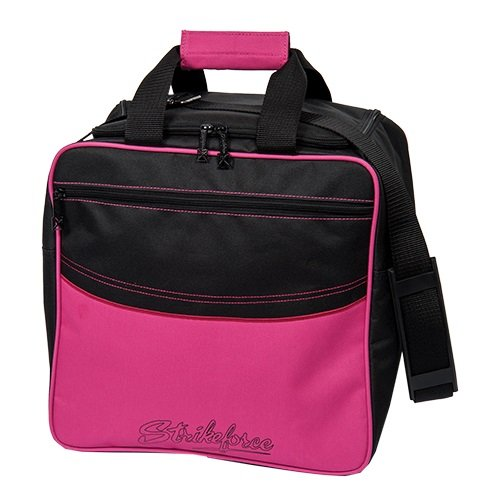 KR Kolors Single Tote Hot Pink Bowling Bag by KR Strikeforce Bowling Bags
