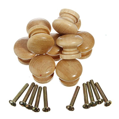 Bazaar 10pcs Wooden Cabinet Drawer Knob Big Bazaar