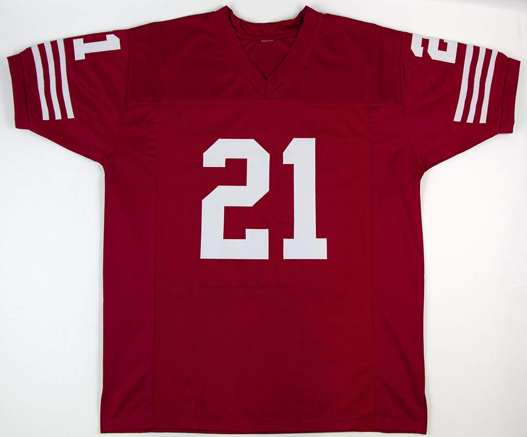 size 40 f0a34 40a22 Frank Gore Red San Francisco 49ers Jersey - Hand Signed By ...