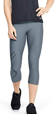 Under Armour Women's HeatGear Armour Graphic Capri Pants