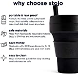 Stojo Collapsible Coffee Cup   Reusable To Go Large
