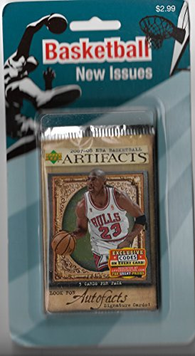 - 2007-08 Upper Deck Artifacts Basketball Sealed Retail Pack Of 5 Cards
