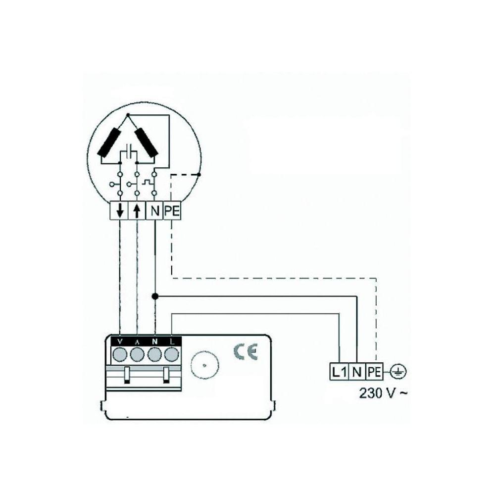 Minuterie pour volet roulant avec programme journalier et fonction al/éatoire Kaiser Nienhaus
