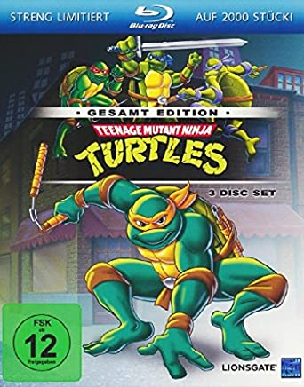 Teenage Mutant Ninja Turtles - Gesamtedition Alemania Blu ...