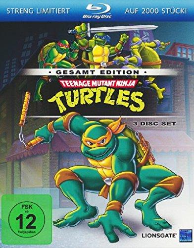 Teenage Mutant Ninja Turtles - Gesamtedition Alemania Blu ...