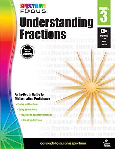 Spectrum Understanding Fractions, Grade 3 (Spectrum Focus)