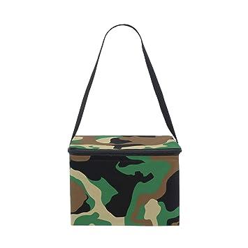 Bolsa de almuerzo con diseño de camuflaje militar para ...
