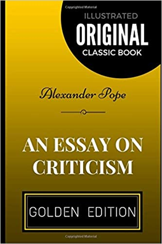 An essay on criticism by alexander pope illustrated alexander