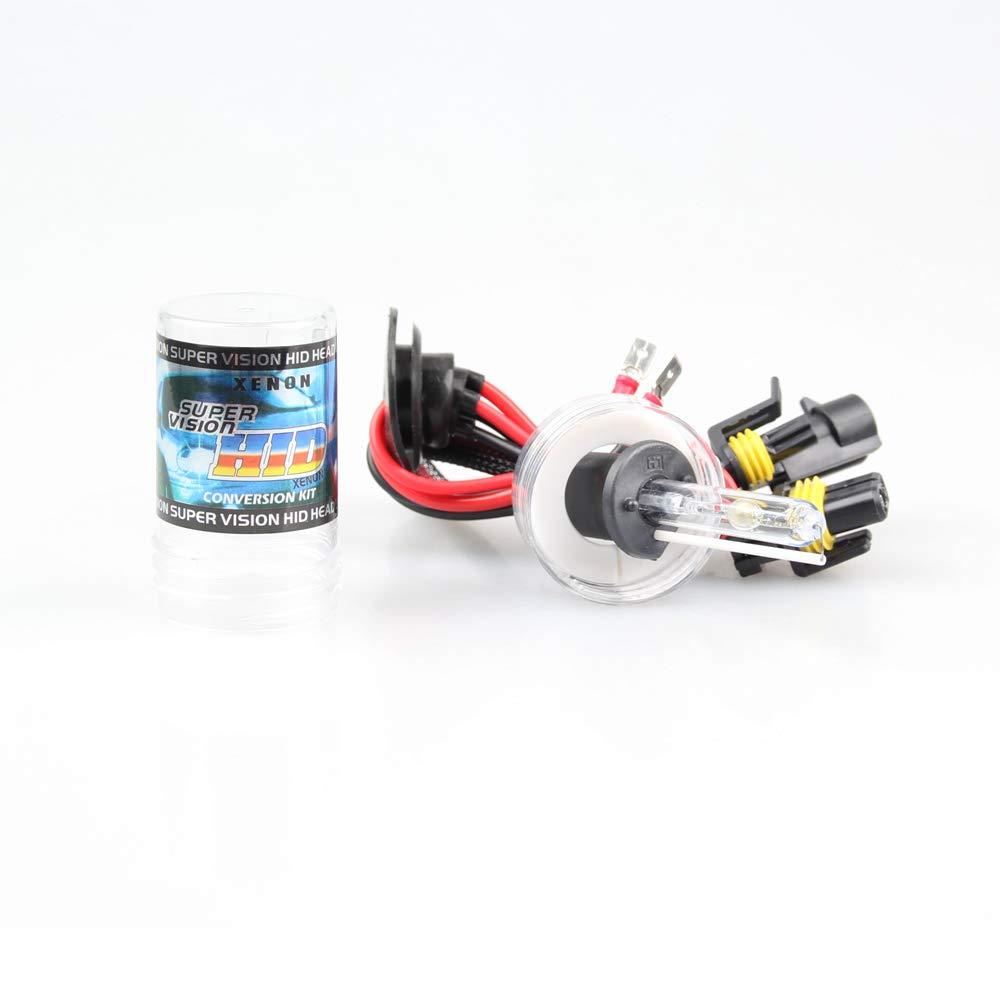BOOMBOOST 55W Kit de luz HID Xen/ón 6000K H1 HID Xenon Bombilla L/ámpara Kit de Conversi/ón Lastre 12V