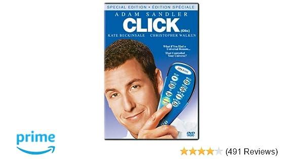 Amazon com: Click [Special Edition]: Adam Sandler, Kate Beckinsale