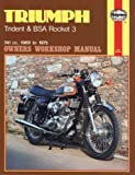 Triumph Trident, B.S.A.Rocket 3 Owner's Workshop Manual (Motorcycle Manuals) by Meek, Frank published by J H Haynes & Co Ltd (1988)