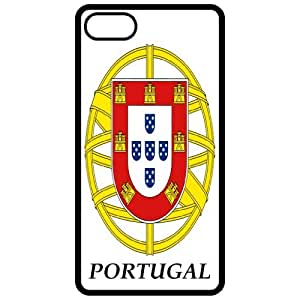 Lesser Portugal - Coat Of Arms Flag Emblem Black Apple Iphone 4 - Iphone 4s Cell Phone Case - Cover