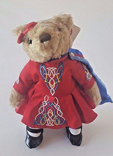 Herrington Teddy Bears Irish Dancer Stuffed Teddy Bear W/ Dress & Cape 10