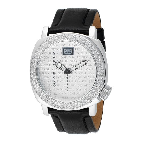 Marc Ecko Men s E95012G1 Black Leather Watch