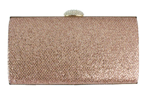 Champagne HandBags Hard Wedding Girly Evening Diamond Clutch Sparkle Bag Case Glitter Party AnTSPRq