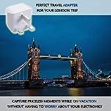 UK, Hong Kong, Ireland Travel Adapter Plug by