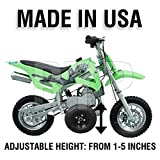 BYP_MFG_INC Adjustable Height Coolster SSR Dirtbike Kids Youth Training Wheels ONLY