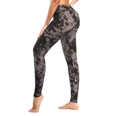 a93f2f19f487c Soft Printed Leggins for Women - One/Plus Size High Waisted Buttery Spandex  Pants (