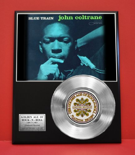 John Coltrane LTD Edition Platinum Record Display - Award Quality Music Memorabilia - from Gold Record Outlet