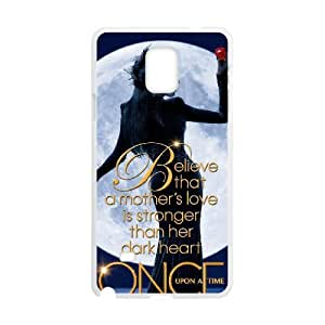 Once Upon A Time Regina Mills Custom Diy Unique Image Durable Rubber Silicone Case ,TPU Phone case for SamSung Galaxy Note4,white