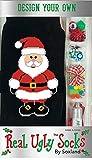 Real Ugly Women's Holiday Design Your Own Christmas Socks Kit
