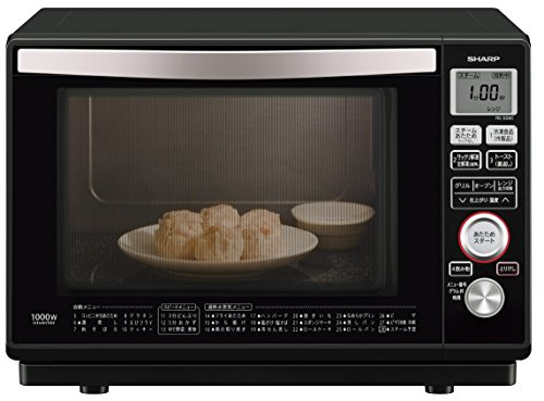 Sharp superheated steam oven 23L Black RE-SS8C-B by Sharp