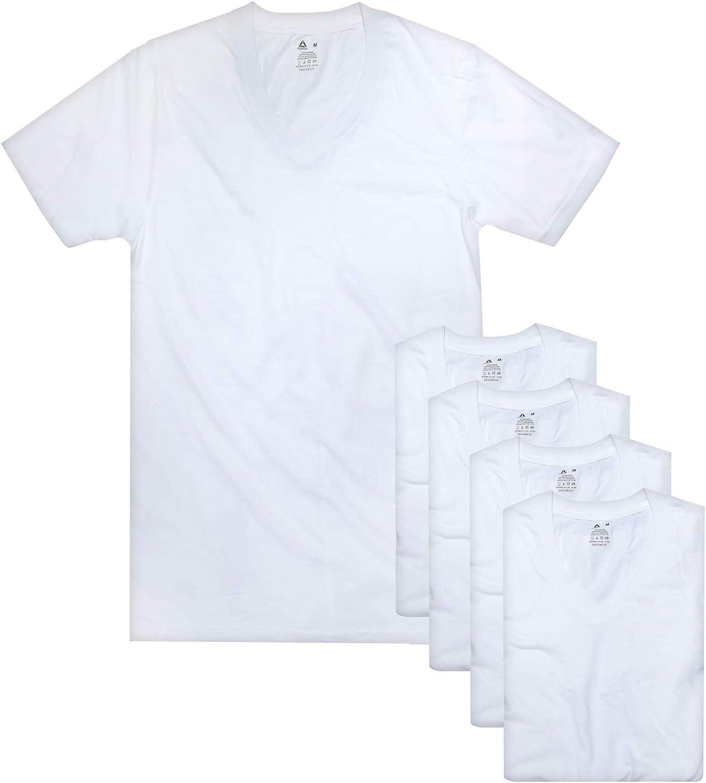Reebok Men's V-Neck T-Shirt (5 Pack)