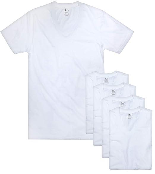 394bc58757 Reebok Men's V-Neck T-Shirt (5 Pack)