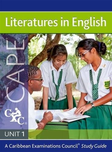 Download LIteratures in English CAPE Unit 1 A Caribbean Examinations Council Study Guide ebook