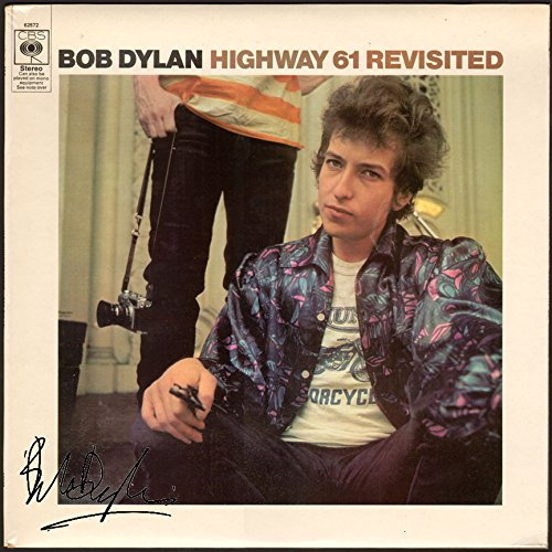 Bob Dylan Signed Autographed Highway 61 Record Album Cover LP Autographed Signed (Bob Dylan Signed)