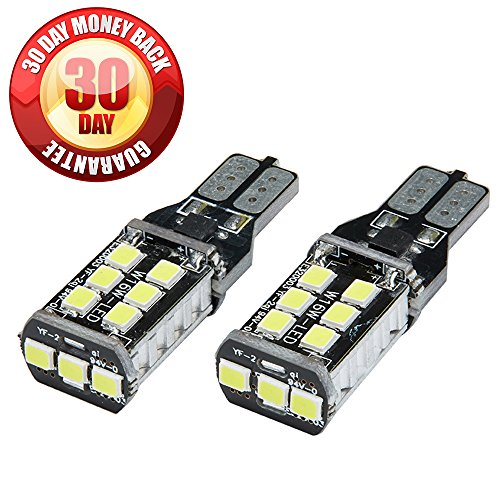 ECOPRO 2 X 800 lumens Error Free 921 912 PX Chipsets Extremely Bright LED Bulbs For Backup Reverse Lights, Xenon White