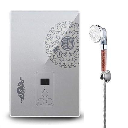 Amazon.com: BTSSA Calentador de agua eléctrico instantáneo ...