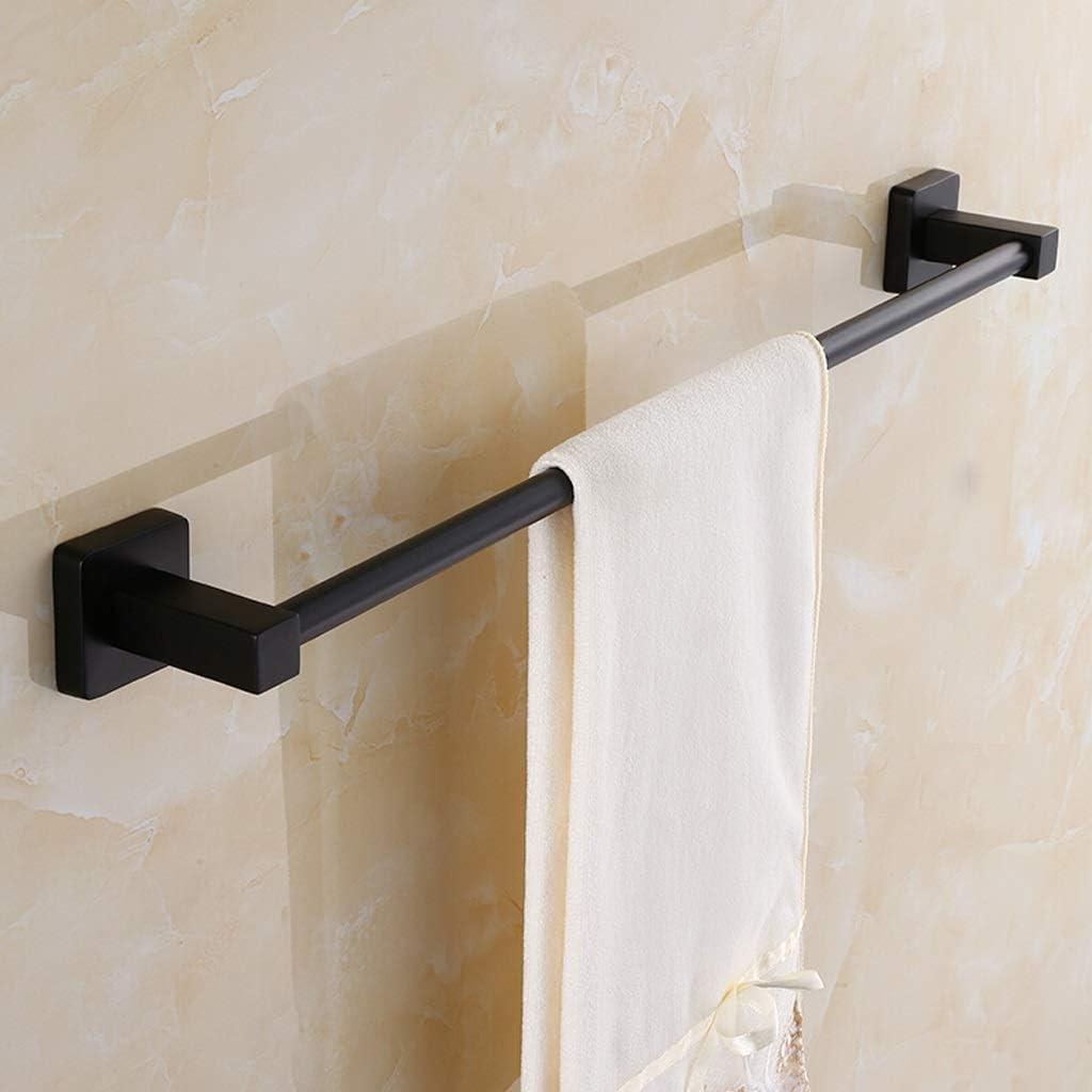 M/ât unique Suspension pour serviette de salle de bain Size : 30CM Antique 30-120cm Suspension pour salle de bain en acier inoxydable Porte-serviettes noir Porte-serviettes, HBJB
