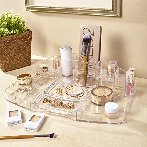 Clear Plastic Vanity Makeup Tray - bedroomdesign.us