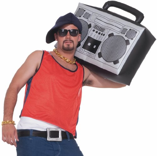 Forum Novelties Hip Hop Inflatable Boom Box -
