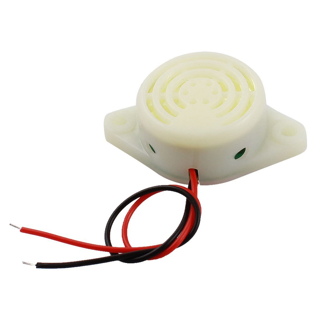 uxcell DC 3-24V 30mA Industrial Continuous Sound Electronic Buzzer 80dB a12051700ux0108