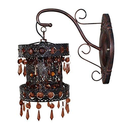 YOIOY - Lámpara de Pared, diseño de balcón Creativo, Color Morado, Marrón, 1